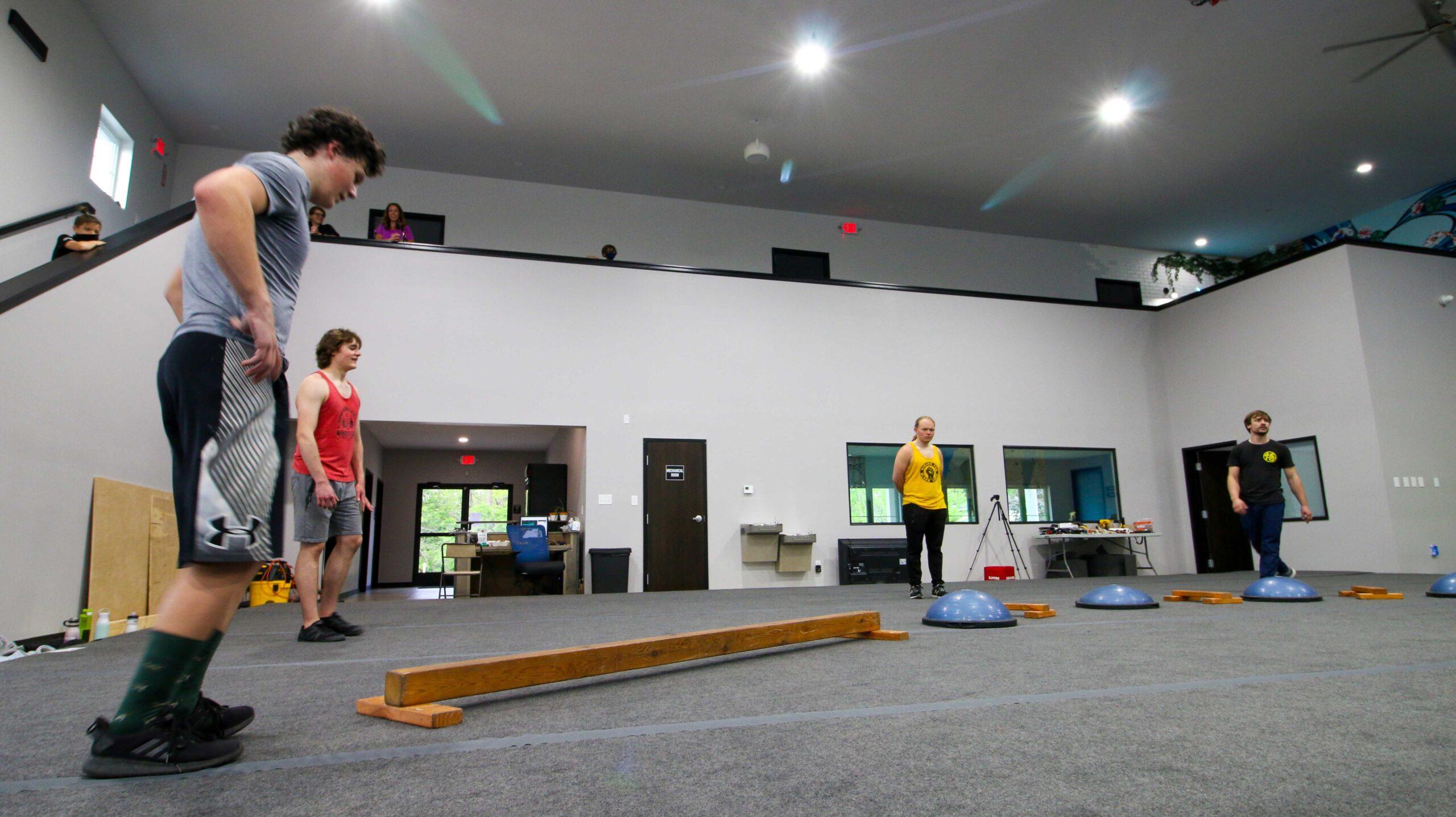 Balancing class inside the facility